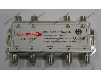 DiSEqC 8x1 OpenFox GD-81A