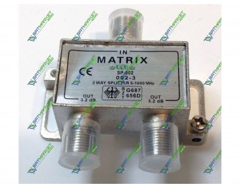 Splitter 2-WAY MATRIX SP-002