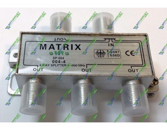 Splitter 4-WAY MATRIX SP-004