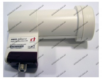 Inverto Universal Single Long Neck LNB RED Line