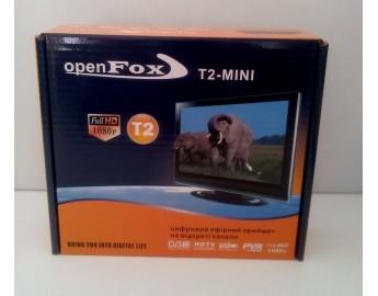 Open Fox T2 mini цифровой эфирный DVB-T2 ресивер