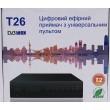 T26 цифровой эфирный DVB-T2 ресивер