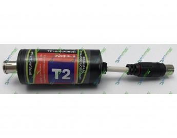 Антенный усилитель DVB-T2 (25 db, 5 V штекер) пластиковый корпус